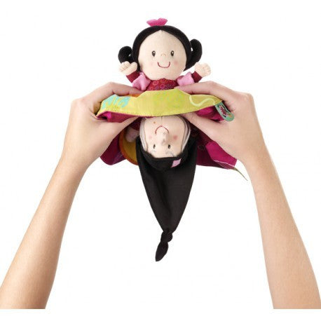 Classic Snow White Reversible Rag Doll