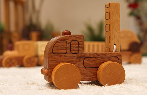 Wooden Car Village
