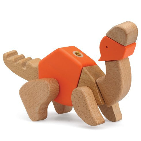 Tiara The Amazing Wooden Dinosaur 3D Puzzle