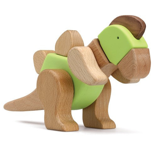 Tino The Amazing Wooden T-Rex 3D Puzzle
