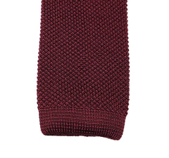 BURGUNDY SILK SETTE KNIT