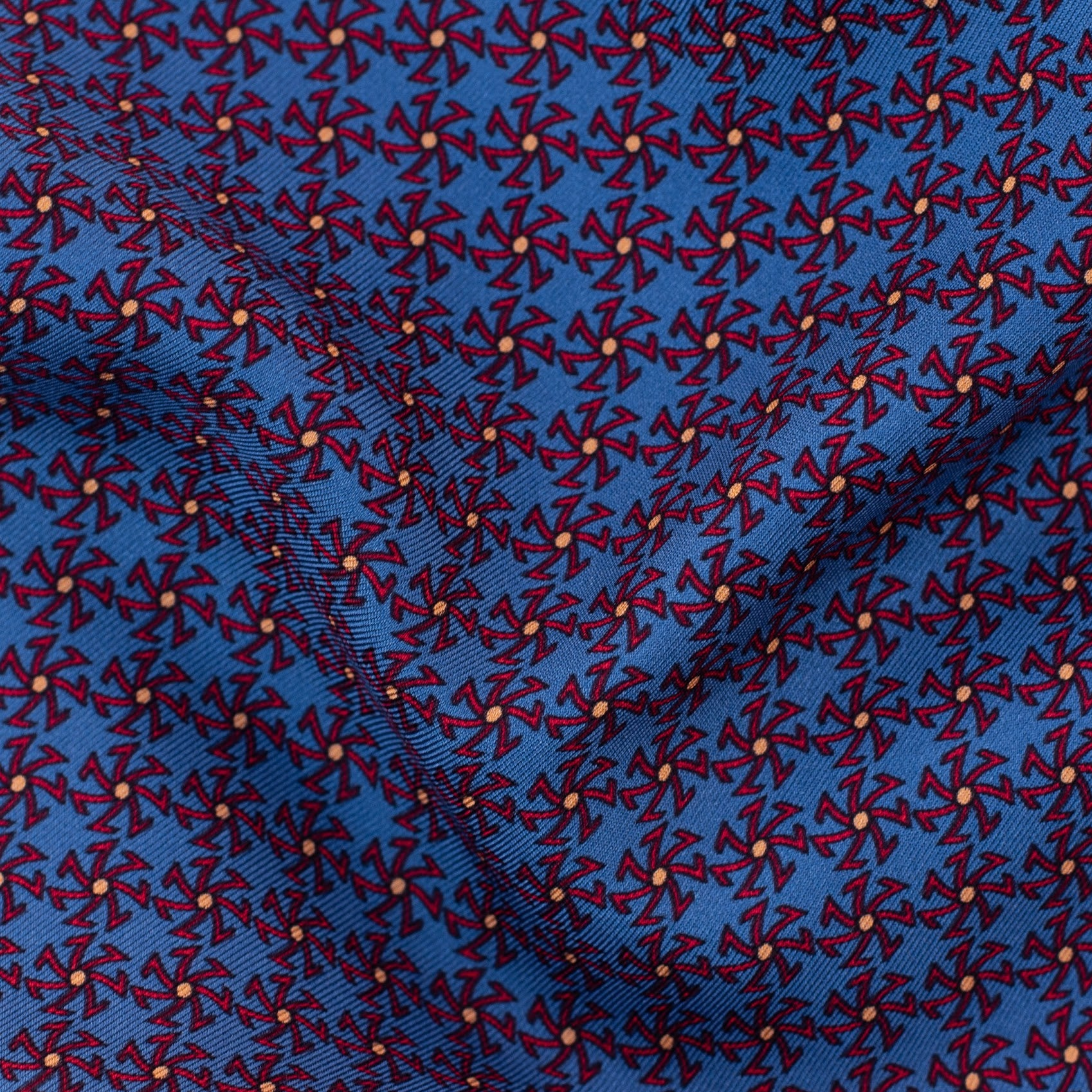 """ASSISI"" -  Sette Star Printed silk."