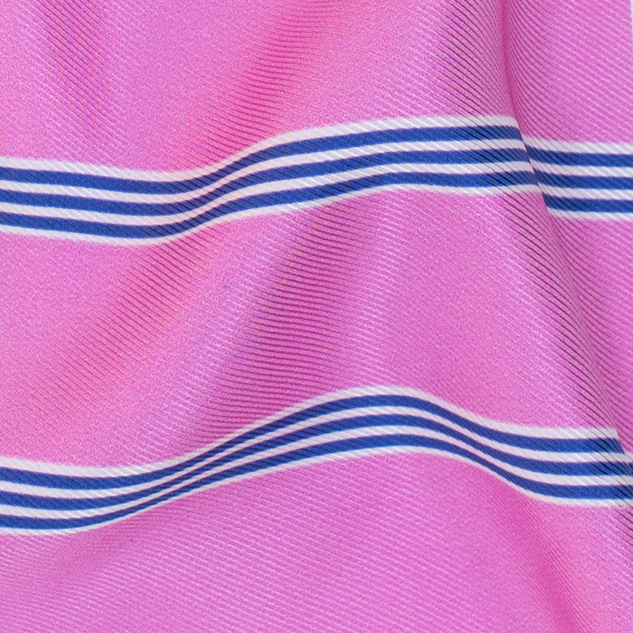 DR. WRIGHT striped Printed Twill
