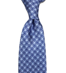 SETTE SPOKES - Light Blue - Printed on 40 oz Twill - Sette Neckwear