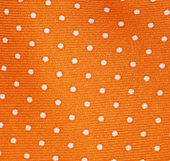 """ORANGE Pin Dot"" - Printed silk."