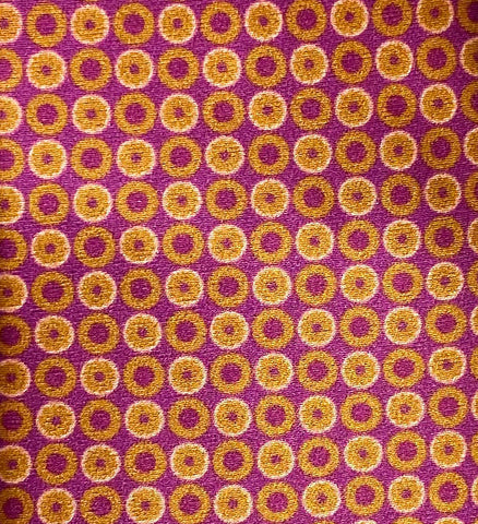 """CITRUS"" - Printed silk."