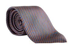 """Irvine HOUNDSTOOTH"" - Printed silk and wool."