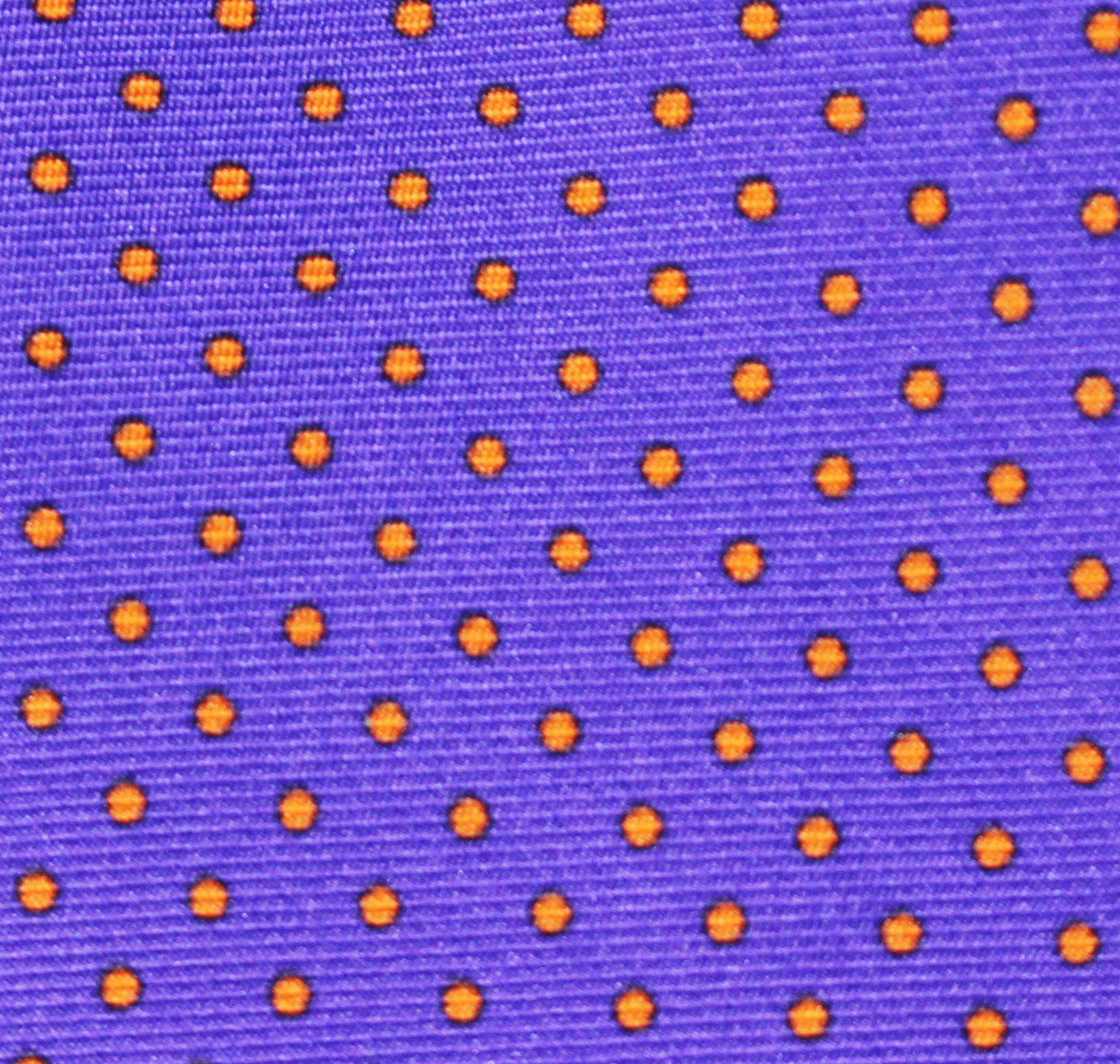 """PURPLE PIN DOT"" - Printed silk."