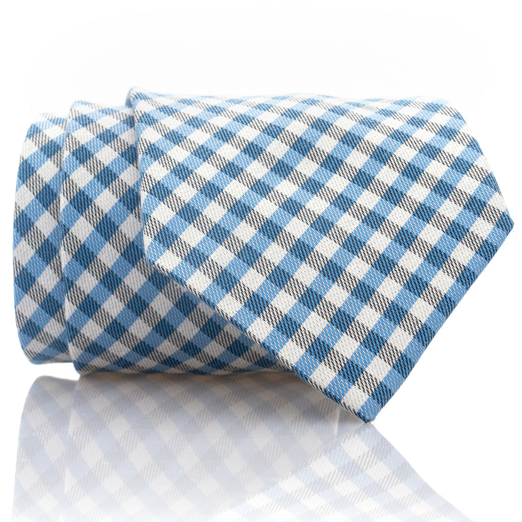 Blue Gingham - Extra Long - 62""