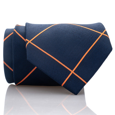 Blue Orange Plaid - Standard