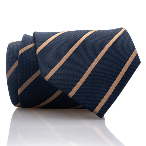 Navy Bronze Stripe - Standard