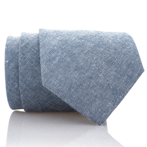 Blue Linen - Extra Long - 62""