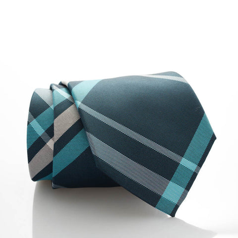 Large Teal Plaid - Standard