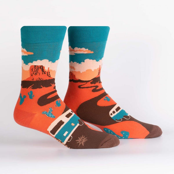 Monument Valley Crew Socks