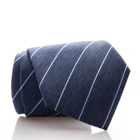 Blue Heather Stripe - Extra Long - 62""