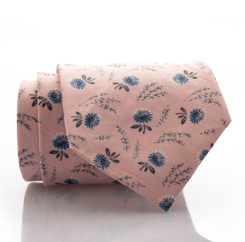 SALE - Soft Pink Floral - Extra Long - 62""