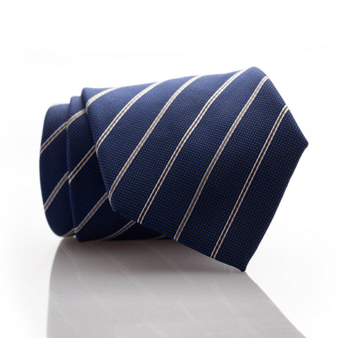 Royal Blue Stripe - Extra Long - 62""