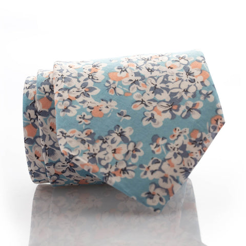 Turquoise Floral - Standard