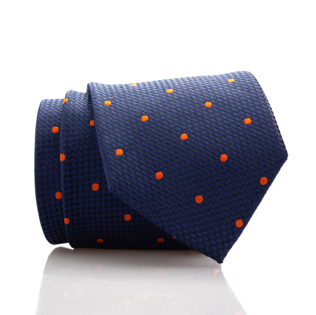 Blue/Orange Dot - Skinny
