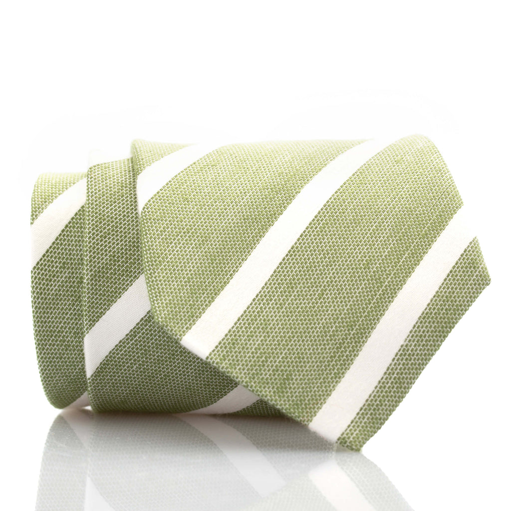 Green/White Stripe - Standard
