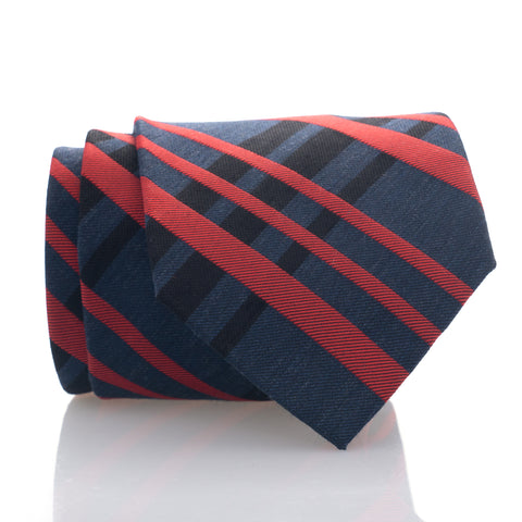 Navy Red Plaid - Standard
