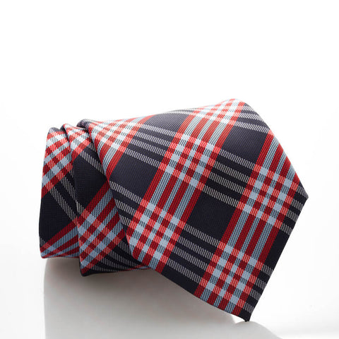Small Navy/Red Plaid - Standard