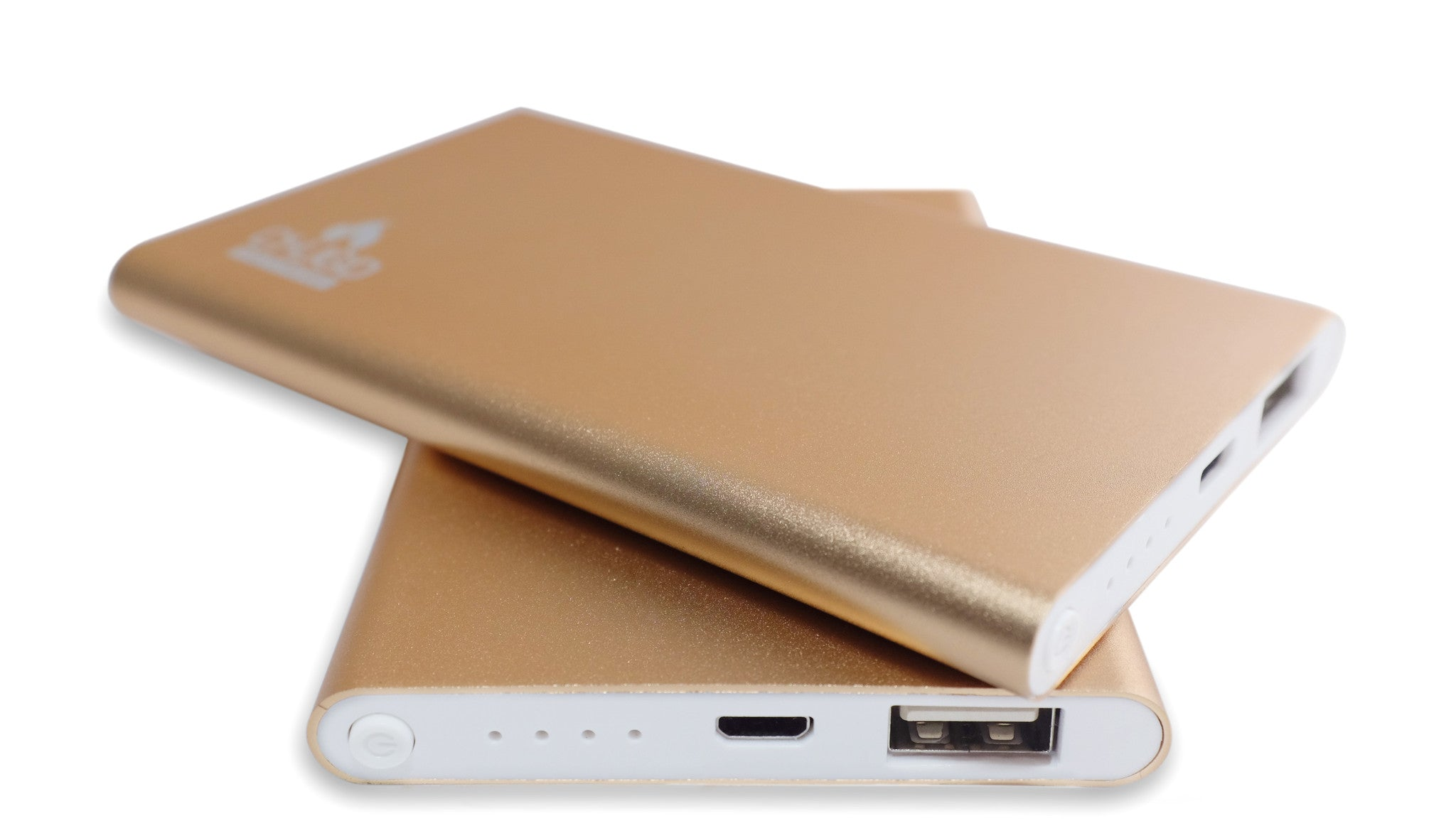 Premium Luxury 4000 mAh Gold Power Bank 3
