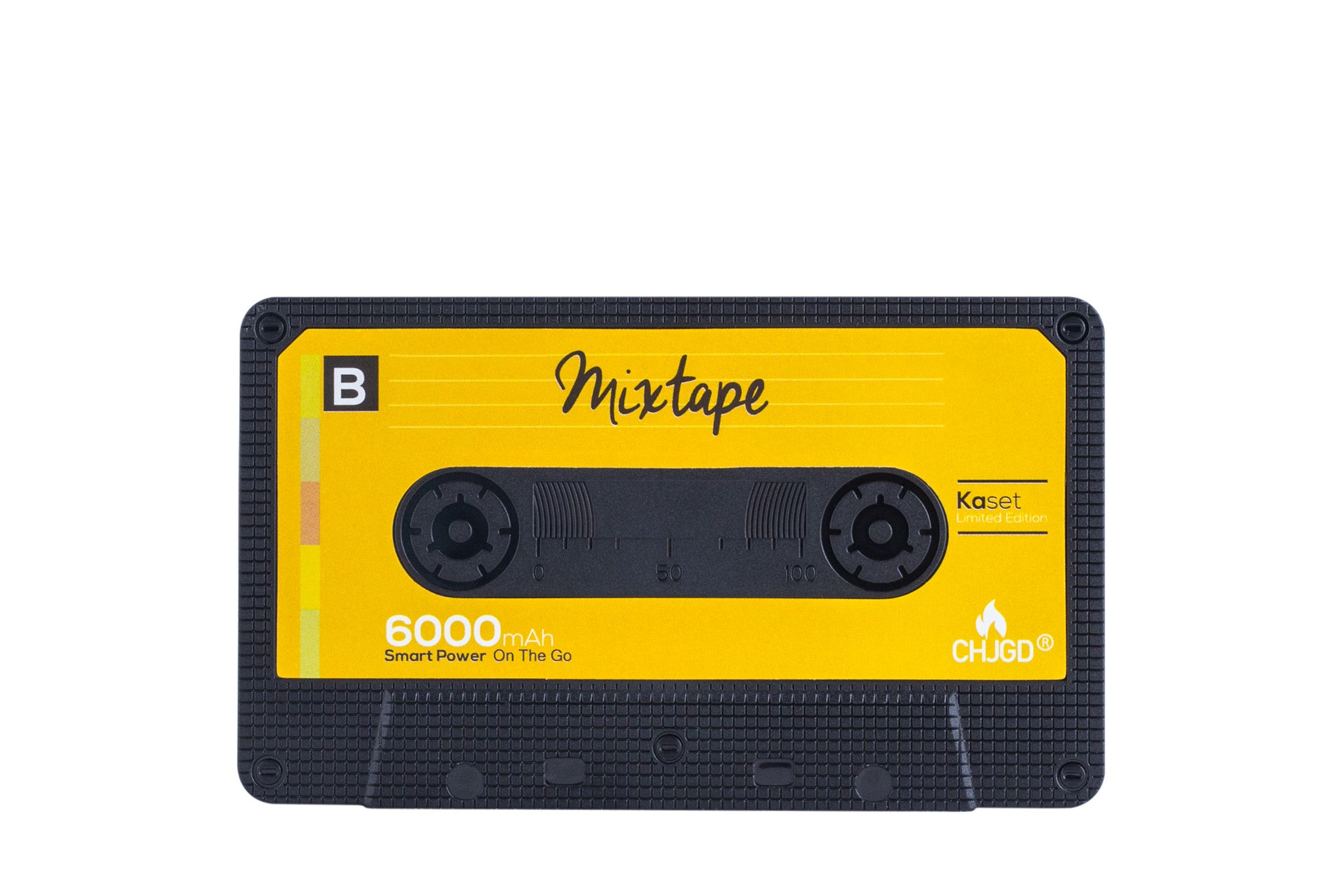CHJGD® Kaset 6,000 mAh Powerbank - Mixtape.