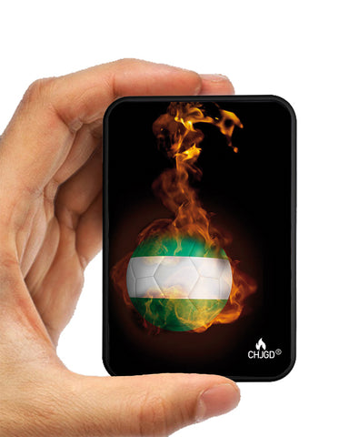 World's Smallest 10,000 mAh Power Bank - CHJGD Ultracompact (Nigeria World Cup) - CHARGEDPOWER.COM