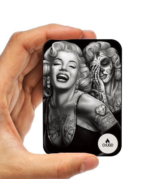CHJGD®  UltraCompact Mini 5000 mAh Power Bank (Marilyn Monroe) - CHARGEDPOWER.COM