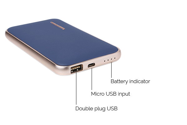 Li-Polymer Power Bank, 8000mAh 3