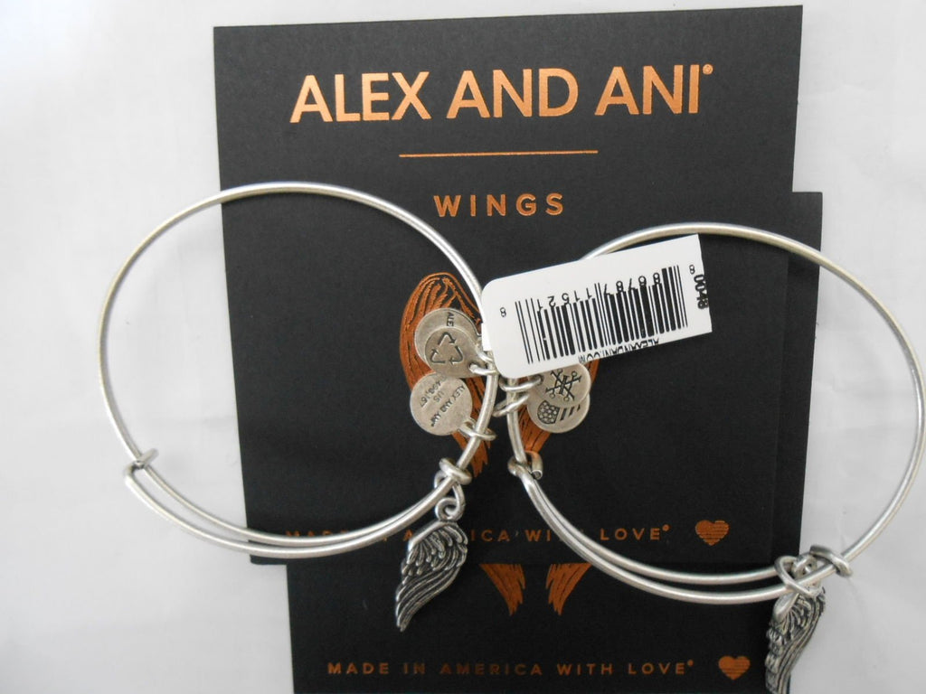 Alex And Ani Path Of Symbols Wings Set Of 2 Expandable Wire
