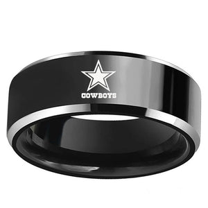 Black Titanium DALLAS COWBOYS ring