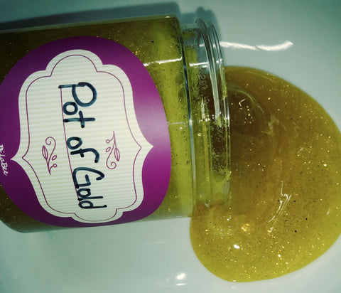 Pot of Gold 12 OZ Designer Glitter Slime