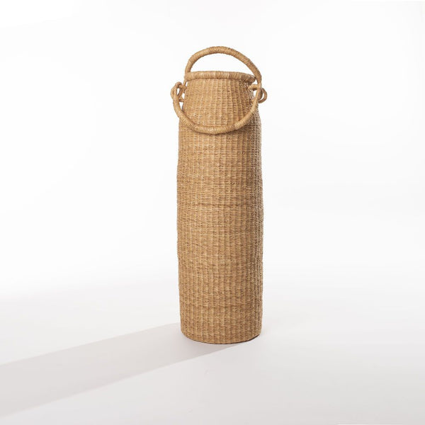 Double Handled Column Basket