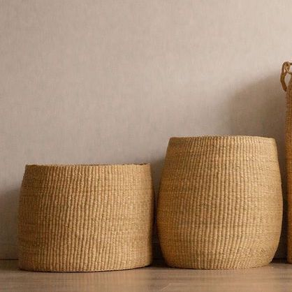 Oversized Bowl Baskets