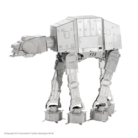 Metal Earth Fascinations 3D Metal Model Kit  Star Wars  AT-AT