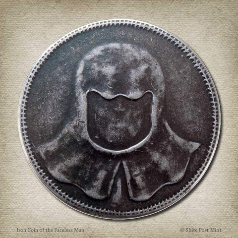 Iron Coin of the Faceless Man - Game of Thrones