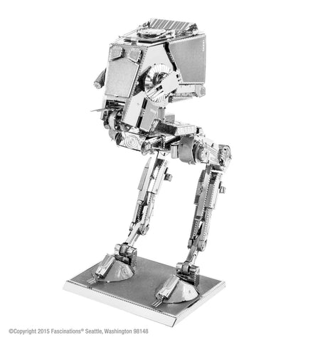 Metal Earth Fascinations 3D Metal Model Kit Star Wars AT-ST
