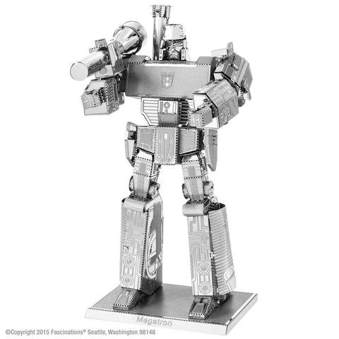 Metal Earth Fascinations 3D Metal Model Transformers Megatron Kit