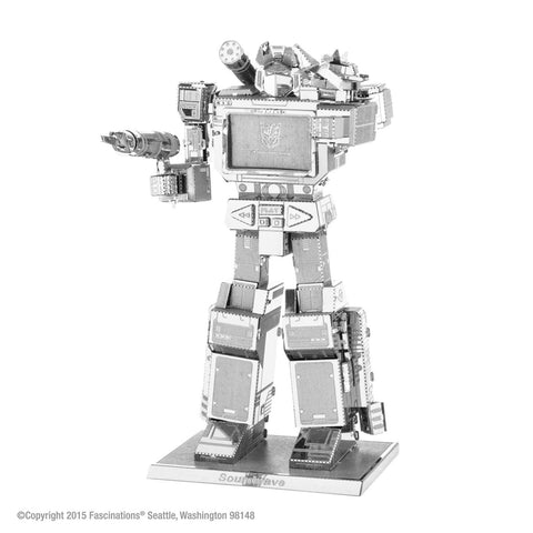 Metal Earth Fascinations 3D Metal Model Transformers Soundwave Kit