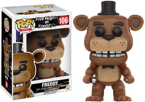 Freddy - Five Nights at Freddys Number 106 Funko POP!