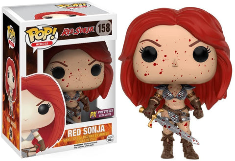 Red Sonja - Bloody Version - Previews Exclusive Funko POP!