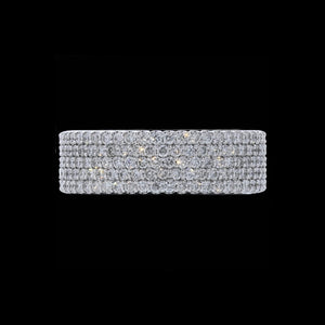 Band Diamond Pave 5 Diamond