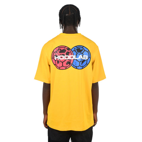 INTER-NATIONAL T-SHIRT YELLOW