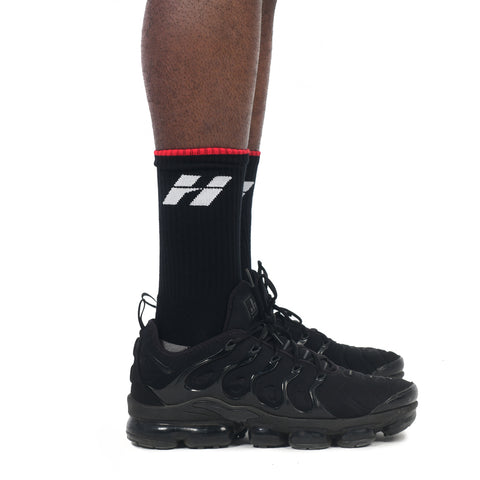 TRAINING SOCKS BLACK