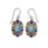 Tribal-multi-gemstone-earrings/virgo-starlight