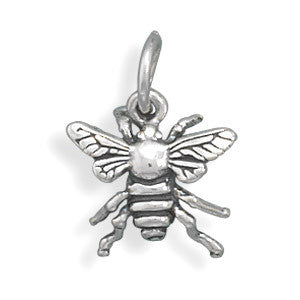 Honey-Bee-Charm-Sterling-Silver