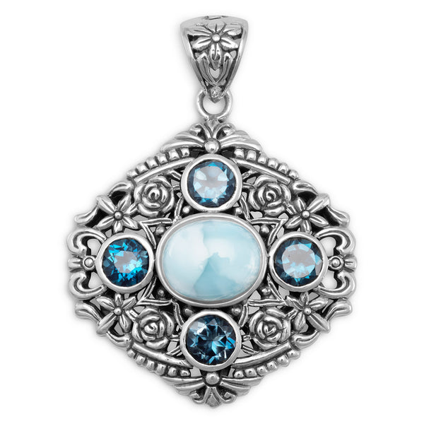 mermaid-dreams-ornate-larimar-sterling-silver-pendant/virgo-starlight