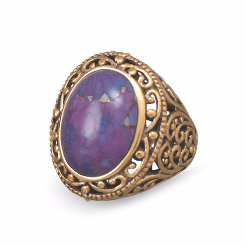 morada-purple-turquoise-ring/virgo-starlight
